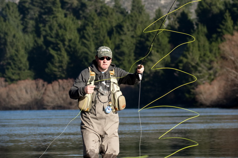 Fly fishing casting for Fly fishing casting